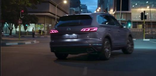 VW Touareg Ad